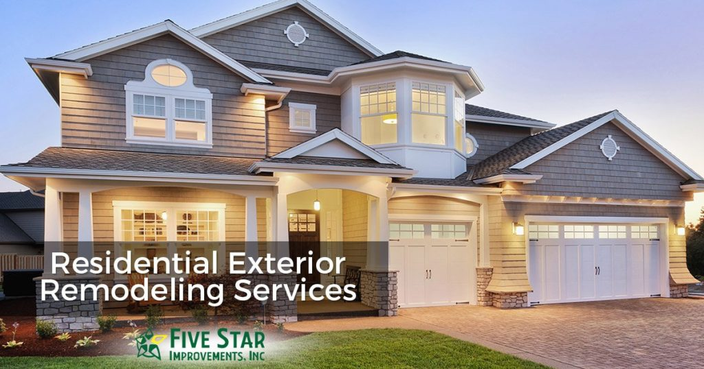 Home Exterior Remodeling Service